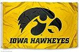 NEOPlex Iowa Hawkeyes Yellow Traditional Flag For Sale
