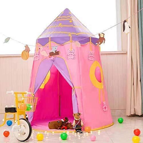 Famtec 子供用 プレイテント キャリーケース インドア アウトドア PT B07K1FDFTJ  Pink