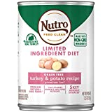 NUTRO Limited Ingredient Diet Adult Canned Natural...