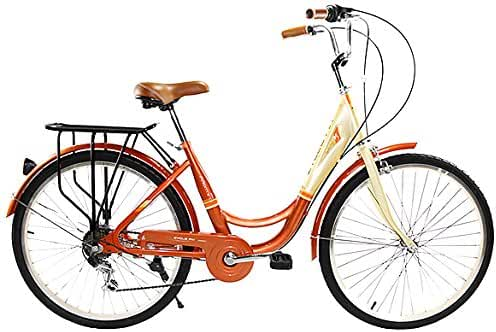 Zycle Fix ZF-COPR-26 City Bikes, Copper, 26-Inch Wheel/Frame
