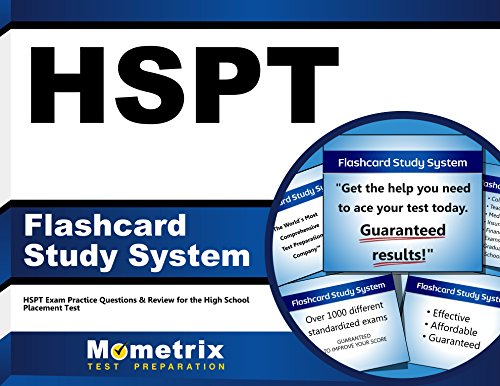 HSPT Flashcard Study System: HSPT Exam Practice Questions & Review for the High School Placement Test (Cards)