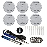 Kyпить Partsam 6pcs Stepper Motor X27 168 Instrument Cluster Gauge Repair Kit + 10pcs White 5mm LED Bulb Fits Chevrolet GMC Buick Isuzu Hummer на Amazon.com