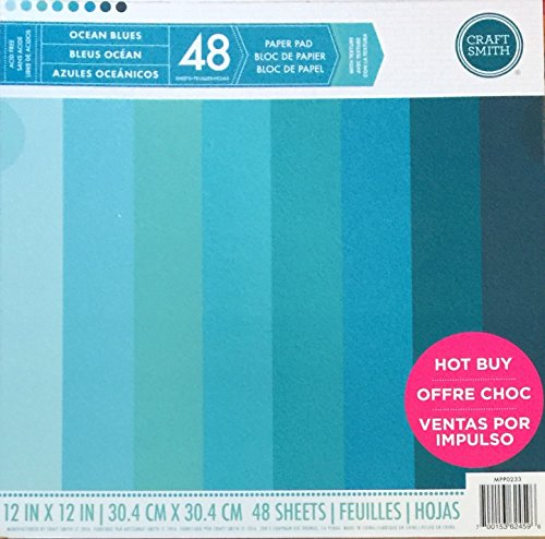 Ocean Blue Paper (Craft Smith 12