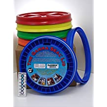 Gamma Seal Lid, Assorted Colors, - New! - Boxed! - 5 Gallon Bucket Lids (Fits 3.5, 5, 6, & 7 Gal.) Storage Container Lid by Gamma