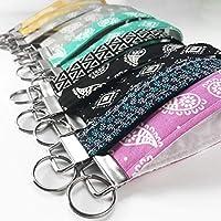Custom Keychain Wristlet for Women Key Fob Key Chain