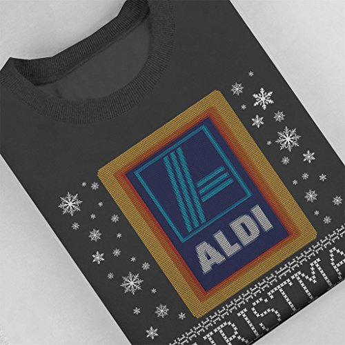 Aldi Sweatshirt Coto7 Women's 7tfqIgaw Jumper Christmas Charcoal zS7wqf
