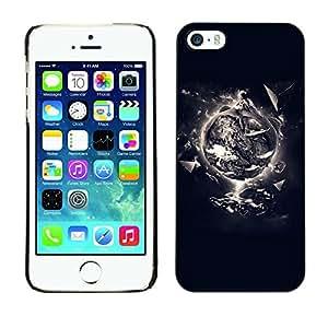 Be Good Phone Accessory // Dura Cáscara cubierta Protectora Caso Carcasa Funda de Protección para Apple Iphone 5 / 5S // Creation Of Life