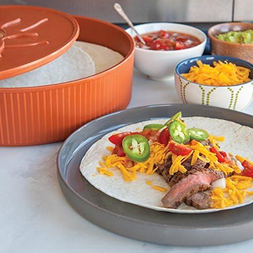 Amazon.com: Nordic Ware calentador de tortillas, 10 pulgadas ...