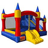 Cloud 9 Royal Slide Bounce House - Inflatable Bouncing Jumper with Blower