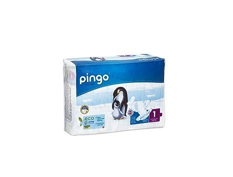 Pingo Pañales Talla 1 New Born (2-5 Kg) - Pack de 2 x 27 Pañales - Total 54 Pañales