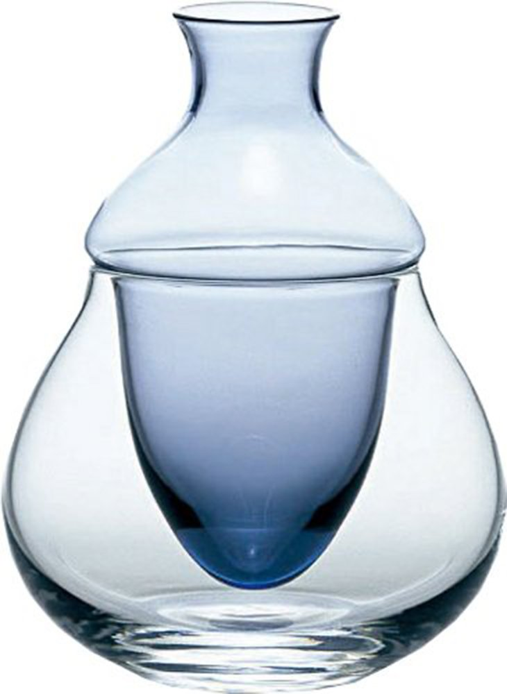 Orient Carafe variation (with ice pocket) cold sake Carafe
