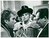 Vintage photo of Anita Ekberg is seen at the final trial with her husband Rik Van Nutter