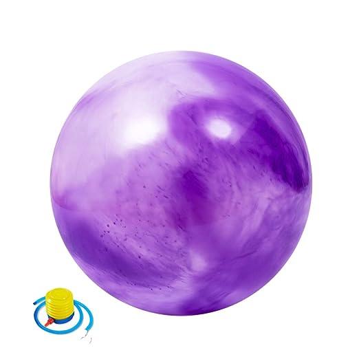 ZENWEN Bola De Ejercicio De Yoga Color De 55 Cm Bola De ...