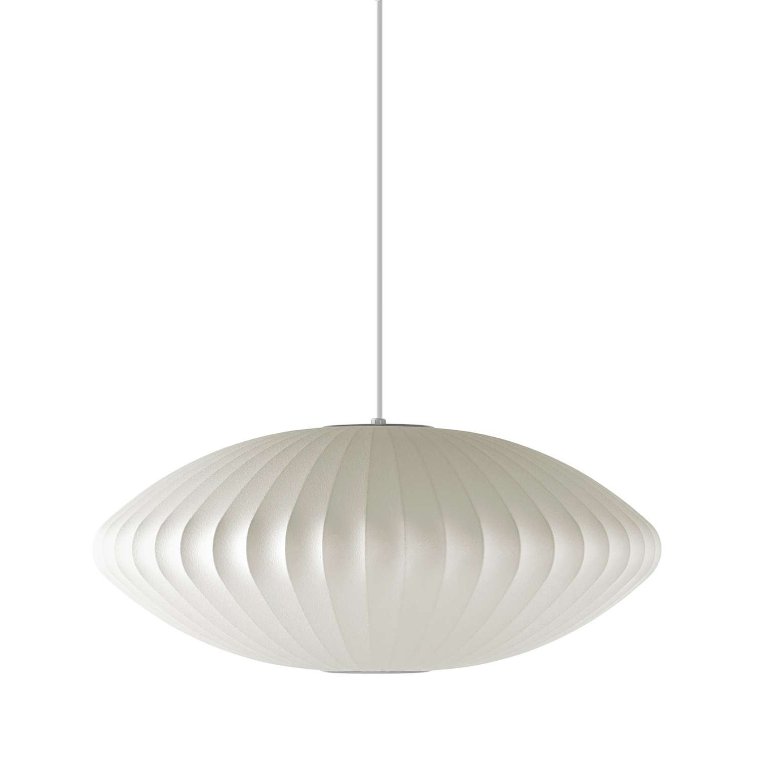 559a70c8cd46 George Nelson Bubble Lamp Saucer Pendant - Ceiling Pendant Fixtures -  Amazon.com