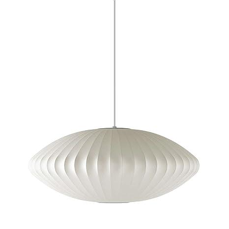 George nelson bubble lamp saucer pendant ceiling pendant fixtures george nelson bubble lamp saucer pendant aloadofball Image collections