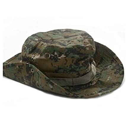 4669001e57e Amazon.com   Generic Bluecell Tactical Head Wear Boonie Hat Cap For ...