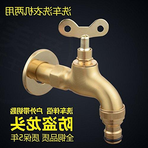 Grifo de latón para lavabo o lavabo de baño, grifo de agua fría ...