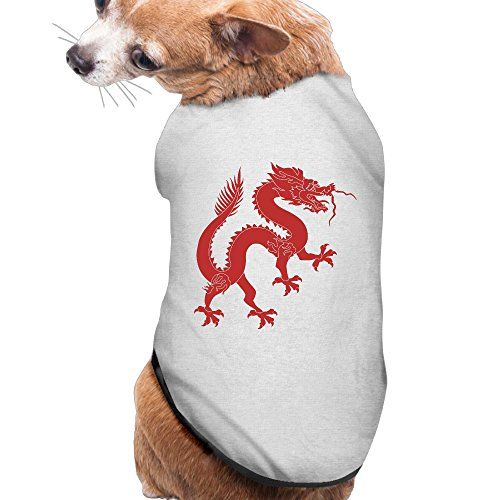 Dragon Quest 8 3ds Costumes (Dog Clothes Dragon Logo Cute Dog Costumes Beautiful Art 100% Polyester Fiber Dog Clothes Dog Jumpers)