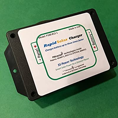 Super Solar Charge Controller Charges a 12v Battery 3X Faster than Any MPPT or PWM Charge Controller Using a Patented Power Extraction Technology. Ideal for any Solar System that Uses 12v batteries