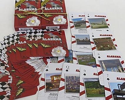 Amazon com: Alabama, Souvenir Playing Cards, Vacation Gift