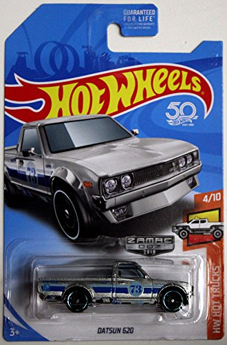 2018 Hot Wheels Zamac Edition Hw Hot Trucks 4/10 - Datsun 620