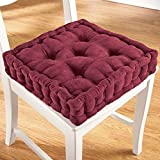 ADULT BOOSTER SEAT 3.5'' Thick Cushion - Burgundy