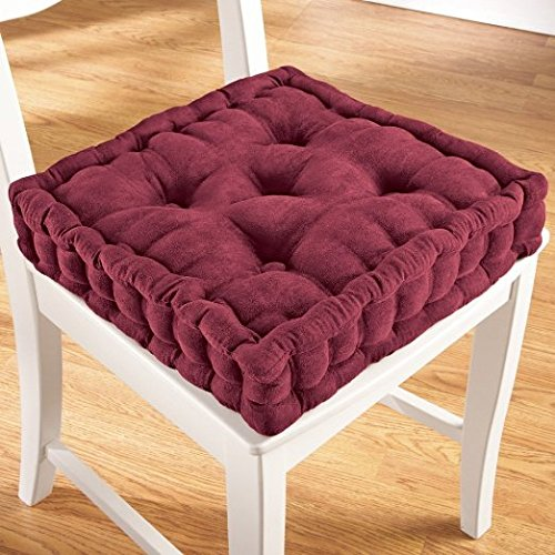 ADULT BOOSTER SEAT 3.5'' Thick Cushion - Burgundy by ADULT BOOSTER SEAT