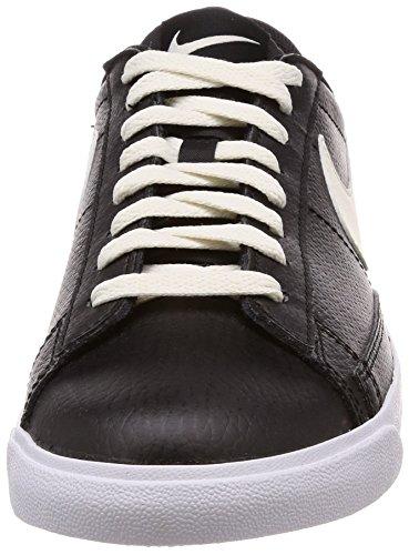 Casual NIKE Black Leather Med Sail Shoe Men's Low sail gum Blazer Brown xwqgF7rw