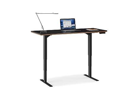 Bdi 6051 Wl Sequel Lift Standing Desk 60 X 24 Top Natural Walnut