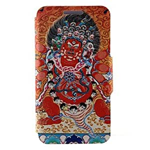 WQQ Kinston Religious Pattern Six Pattern PU Leather Full Body Case with Stand for iPhone 5C