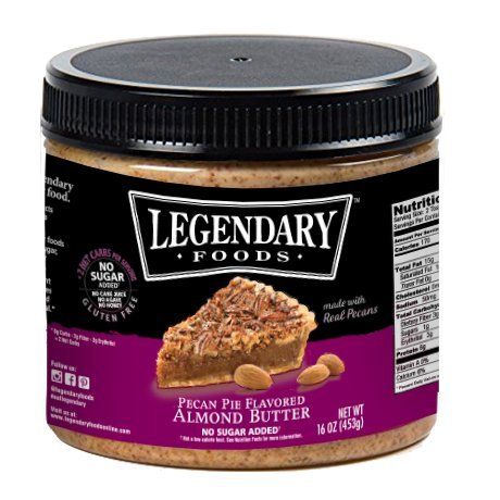 Pecan Pie Keto Almond Butter