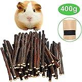 Malier Apple Sticks Pet Snacks Chew Toys for Guinea Pigs Chinchilla Squirrel Rabbits Parrot hamster degus gerbil