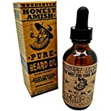 Honest Amish - Pure Beard Oil - 2 Ounce - Fragrance Free