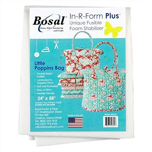 Bosal In-Form Stabilisateur en mousse double face thermofusible Blanc 147 cm
