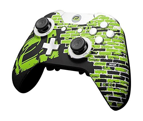 SCUF Infinity1 New OpTic Greenwall Controller for Xbox One and PC by Scuf Gaming