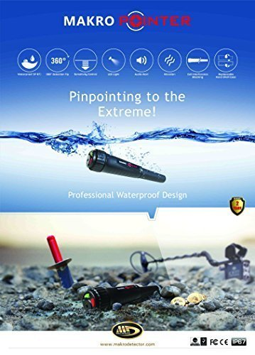 MakroPointer Makro Pointer Makro ProPointer Metal Detector by Makro Pointer