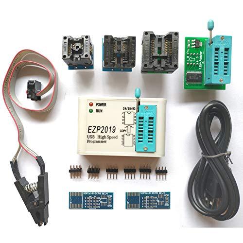 Bios Chip Flash - SETCTOP EZP2019 High Speed USB SPI Programmer Socket Support 24 25 93 EEPROM Flash Bios