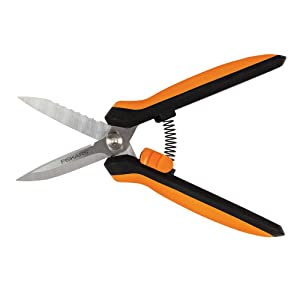 Fiskars Garden 399220 Multipurpose Garden Snips, Black/Orange