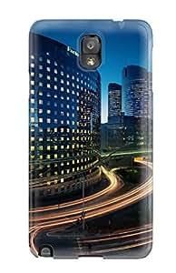 Best City Of Paris Durable Galaxy Note 3 Tpu Flexible Soft Case 9434521K67217110