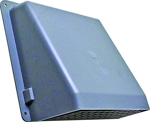 (GENERIC MEMORY 351GR/351G Lambro 351G Wall Cap, For Use With Round Duct, 6 In, Plastic, Gray 6