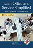 Lean Office and Service Simplified 1st Edition