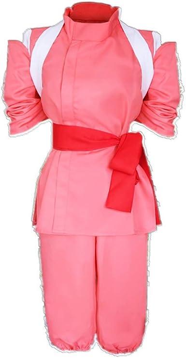 Cosparky Anime Ogino Chihiro Spirited Away Daily Costume For Women Full Set Amazon Co Uk Clothing