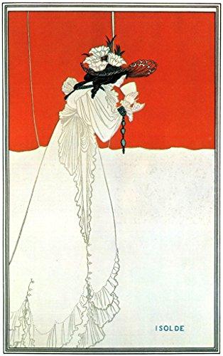 Isolde : Aubrey Beardsley : circa 1893 : Fine Art Giclee Print