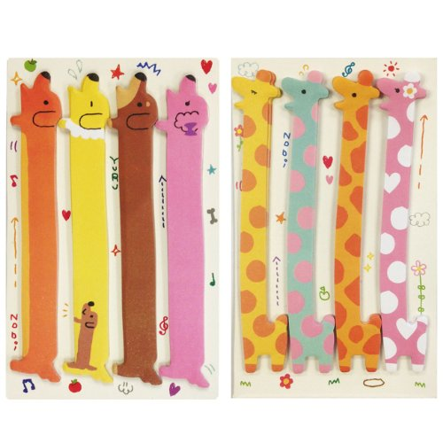 Wrapables Bookmark Index Sticky Giraffe