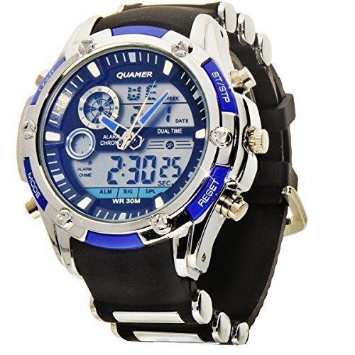 selezione migliore 3ba26 40cac Uomo orologio da polso cronografo con analog/digitale e ...