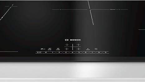 Bosch Serie 6 PVS851FB1E hobs Negro Integrado Con - Placa (Negro ...