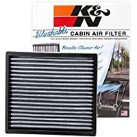$36 » K&N VF2000 Washable & Reusable Cabin Air Filter Cleans and Freshens Incoming Air for your…