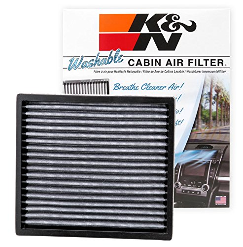 - K&N VF2000 Washable & Reusable Cabin Air Filter Cleans and Freshens Incoming Air for your Subaru, Toyota