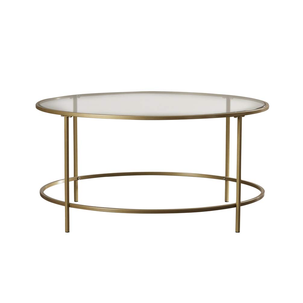 Amazon Com Perfect Furniture Csq Glass Small Round Table