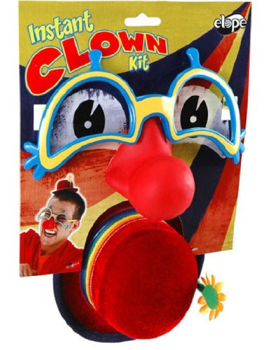 [Elope Clown Kit +] (Clown Glasses)